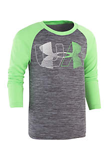 Boys 4-7 Linear Logo Twist Raglan Tee