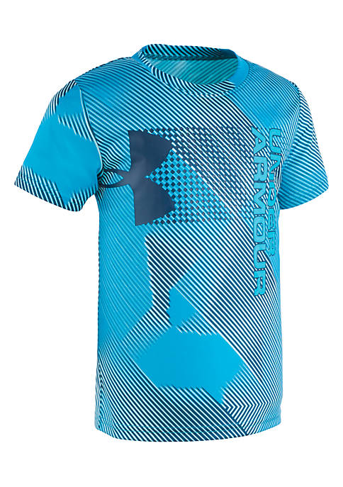 Under Armour® Boys 2-7 Short Sleeve Sequence Hybrid