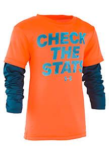 Boys 2-7 Check the Stats Slider Tee Shirt