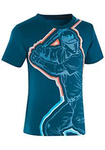 Boys 2 - 7 Short Sleeve Baseball Hero T-Shirt
