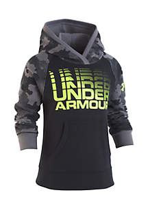 Under Armour® Boys 4-7 Traverse Camo Pullover Hoodie