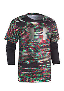 Under Armour® Boys 4-7 Static Digital Slider Top