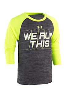 Under Armour® Boys 4-7 We Run This Raglan Tee