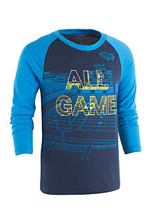 Under Armour® Boys 4-7 All Game Long Sleeve Tee