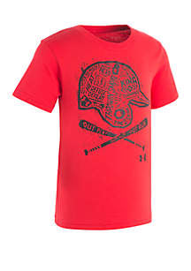 Boys 2-7 Baseball Cross Bat Short Sleeve Tee