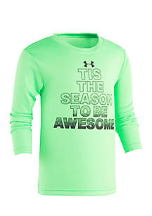 Boys 4-7 Tis The Season To Be Awesome Tee