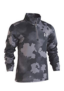 Boys 4-7 Traverse Camo 1/4 Zip Jacket