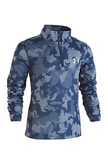 Boys 2-7 Utility Camo 1/4 Zip Jacket