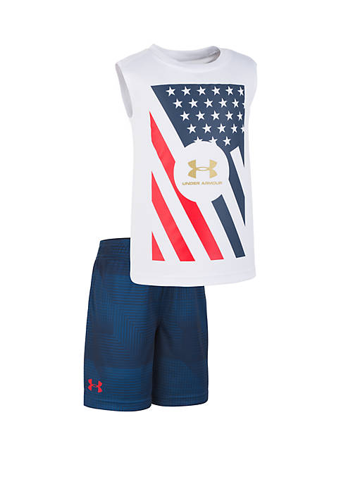 Under Armour® Boys 2-7 UA Flag Set