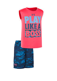 b8e25b25e314 Under Armour® Boys 2-7 UA Play Like A Boss Set