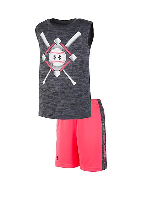 Under Armour® Boys 2-7 UA Baseball Anthem Set