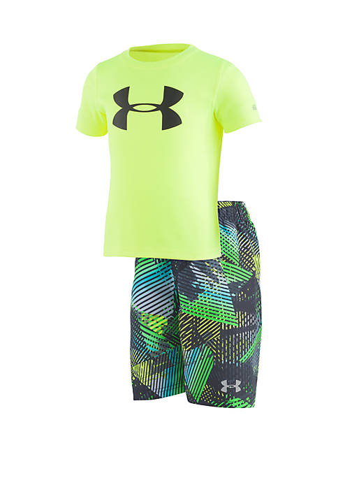 Under Armour® Boys 2-7 UA Triangle Camo Volley
