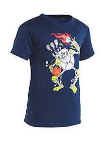 Under Armour® Boys 2-7 Baseball Robot Short Sleeve Tee