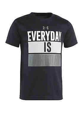 9f3cc1a12d Under Armour® Boys 2-7 Everyday Is Gameday Short Sleeve T Shirt ...