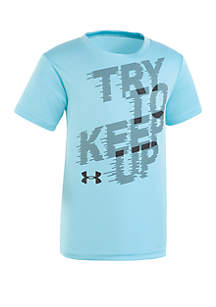 Under Armour® Boys 2-7 Try To Keep Up Short Sleeve Tee
