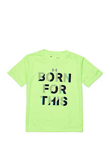Under Armour® Boys 2-7 Born For This Short Sleeve T Shirt