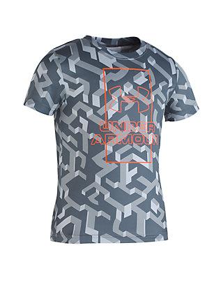 Under Armour® Boys 2-7 Knockout Short Sleeve T Shirt