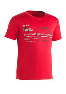 Under Armour® Boys 2-7 UA Stencil Short Sleeve T Shirt