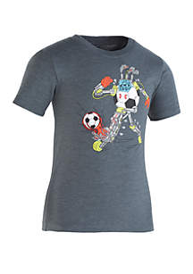 Under Armour® Boys 2-7 Soccer Player Short Sleeve T Shirt