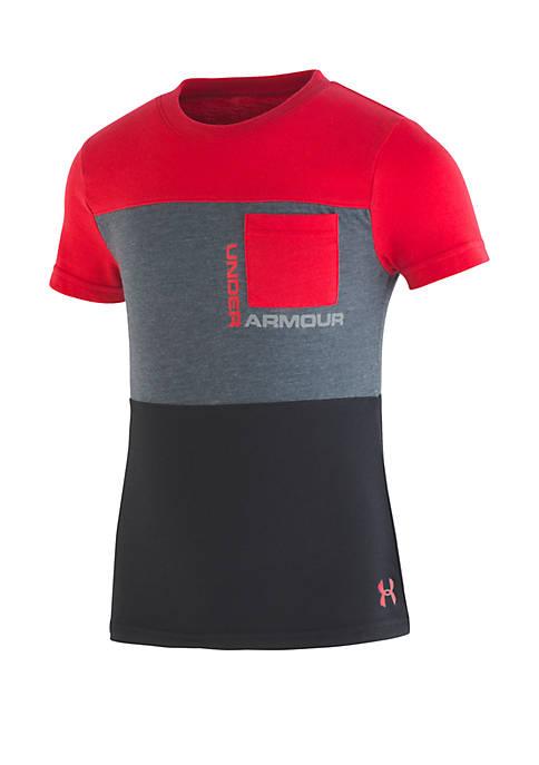 Under Armour® Boys 2-7 Pieced Pocket Short Sleeve