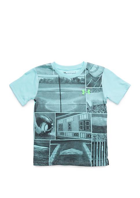 Boys 2-7 UA Baseball Days Short Sleeve T Shirt