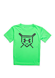 Under Armour® Boys 2-7 Baseball Squad Short Sleeve T Shirt