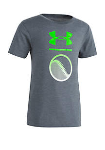 Under Armour® Boys 2-7 UA Baseball Icon T Shirt