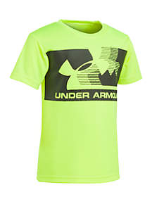 Under Armour® Toddler Boys UA Fly By Short Sleeve Tee