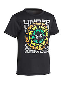 Under Armour® Toddler Boys UA Front and Center Short Sleeve Tee