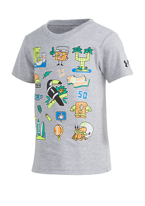 Boys 4-7 UA Vacation Short Sleeve Tee