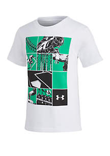 Under Armour® Boys 4-7 UA Baseball Storyboard Short Sleeve Tee