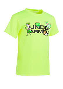 Under Armour® Boys 4-7 UA Training Camp Wordmark Short Sleeve Tee