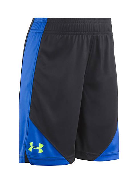 Under Armour® Boys 2-7 Side Swipe Shorts
