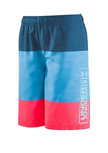 Under Armour® Boys 4-7 Color Block Volley Board Shorts
