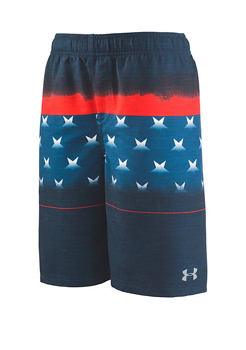 Under Armour® Boys 4-7 Americana Striped Volley Board