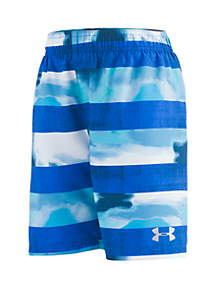 Under Armour® Boys 4-7 Marble Stripe Volley Board Shorts