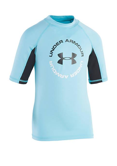 Boys 4-7 H2O Reveal Short Sleeve Rash Guard