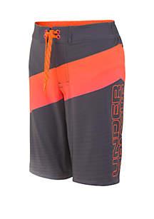 fdb3948d81052 ... Under Armour® Boys 8-20 UA Vibron Elastic Board Shorts