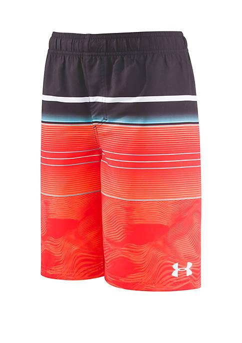 Boys 8-20 Static Striped Volley Swim Shorts
