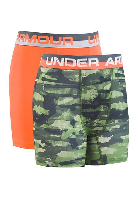 Under Armour® Boys 8-20 Grit Boxer Set