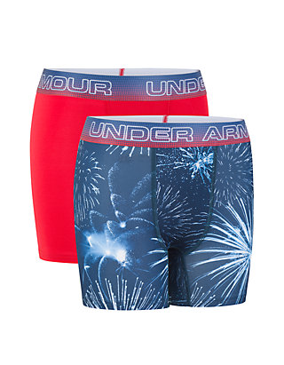 8f7b87a4d63aa1 Under Armour®. Under Armour® Boys 8-20 Fireworks Performance Boxer Briefs