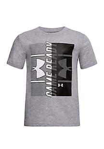 Under Armour® Boys 4-7 Game Ready Short Sleeve T Shirt