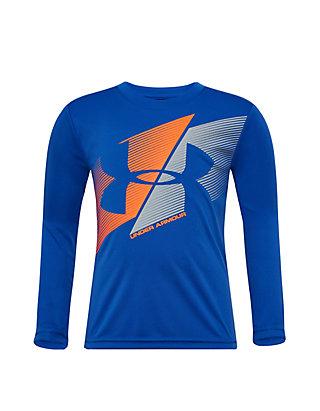 9df08d5085 Boys 4-7 Slashed Logo Long Sleeve T Shirt