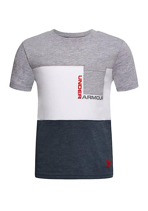 Under Armour® Boys 4-7 Pieced Pocket Short Sleeve