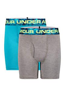 Under Armour® Boys 8-20 Windstream Cotton Boxer Briefs Set