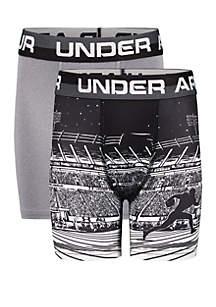 9d19a83ae0e99 ... Under Armour® Boys 8-20 Football Performance Boxer Briefs Set