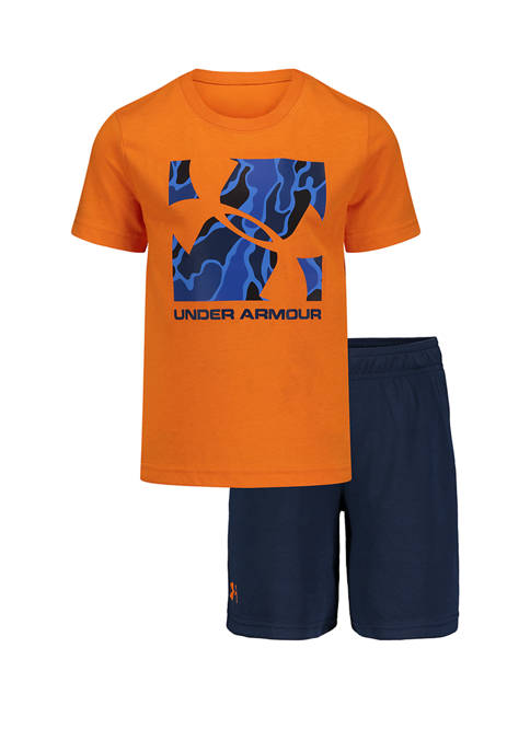 Boys 4-7 Diverge Boxed Logo Set