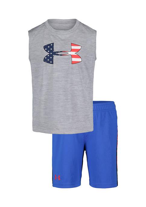 Under Armour® Boys 4-7 Americana Icon Twist Set
