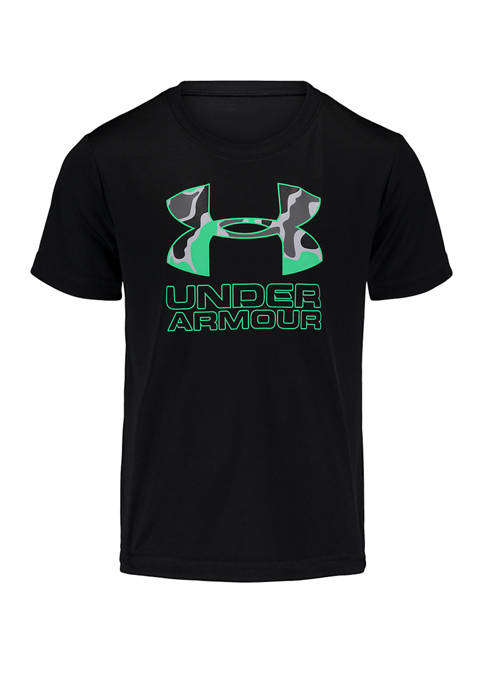Under Armour® Boys 4-7 Short Sleeve Diverse Micro