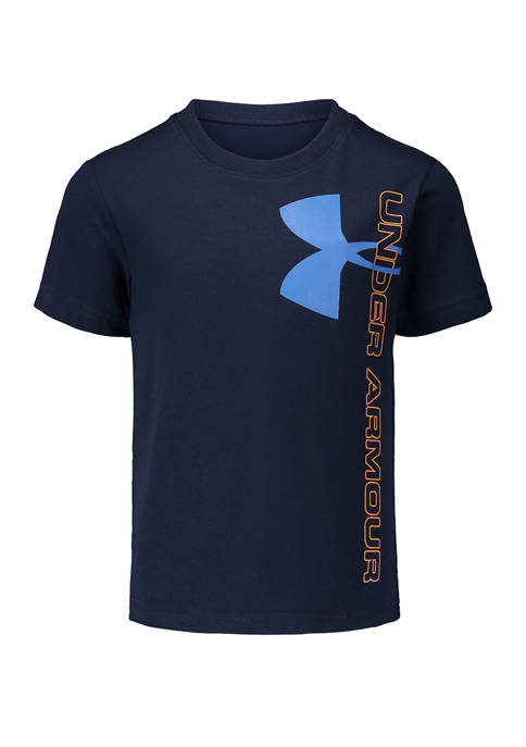 Under Armour® Boys 4-7 Split Logo T-Shirt